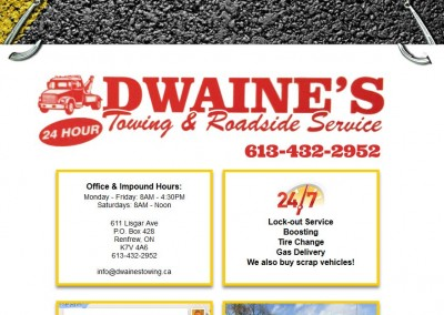 Dwaine's Towing