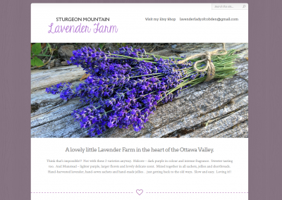Sturgeon Mountain Lavender Farm