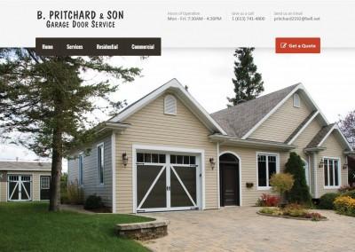 B. Pritchard & Son Garage Door Installation and Service